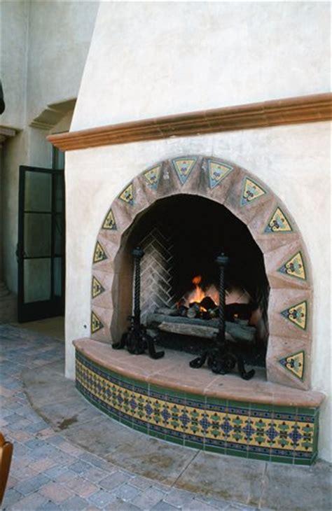 Mediterranean Fireplace  Morongo Valley, Ca Photo