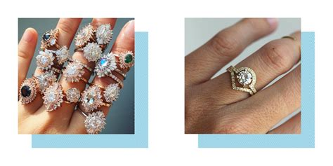 best wedding and engagement ring designers etsy