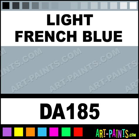 light french blue paint light french blue decoart acrylic paints da185 light