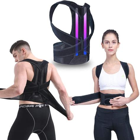 Back Braces for Posture Correction with Dual GFRP Brace ...