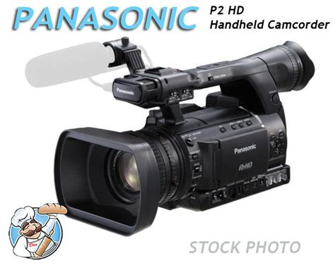 p2 panasonic panasonic p2 hd handheld camcorder ag hpx255pj new