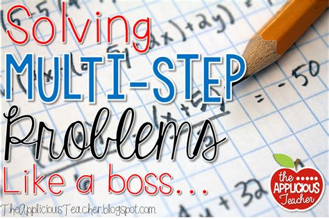 Multistep Word Problems, Decoded