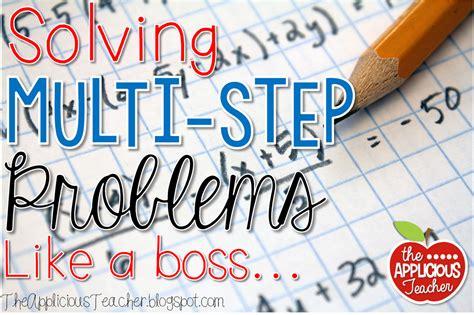 Multistep Word Problems, Decoded!  The Applicious Teacher Bloglovin'