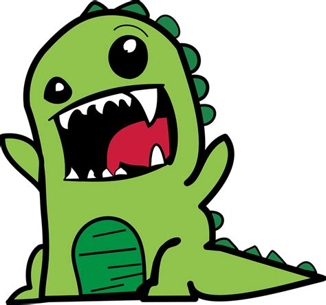 cartoon transparent free vector graphic cartoon comic dino dinosaur free