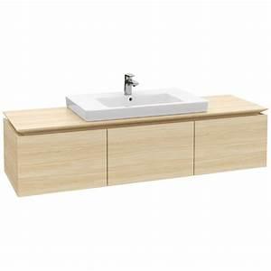 Waschtischunterschrank 160 Cm : villeroy boch legato waschtischunterschrank 160 cm mit 3 ausz gen b21800pn megabad ~ Indierocktalk.com Haus und Dekorationen