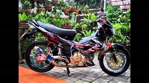 Foto Gambar Satria 2015 by Foto Modifikasi Motor Satria F U Terkeren Dan Terbaru