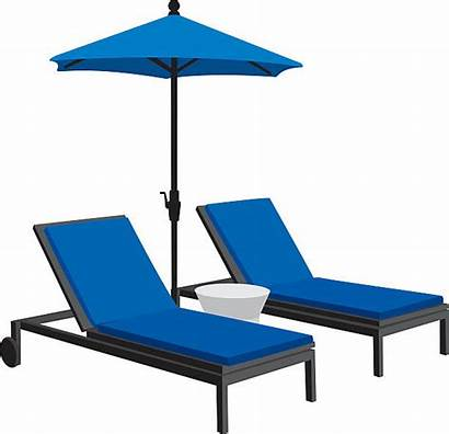 Furniture Patio Vector Silhouettes Chair Clip Outdoor