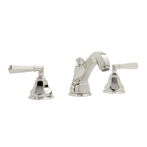 rohl palladian 8 in widespread 2 handle bathroom faucet