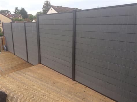 diy size wpc fence panel wood plastic composite boards  wpc aluminum composite fence
