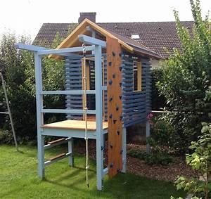 Kinderspielplatz Selber Bauen : ein rundgang durch das selbstgebaute spielhaus holzhandwerk ~ Buech-reservation.com Haus und Dekorationen