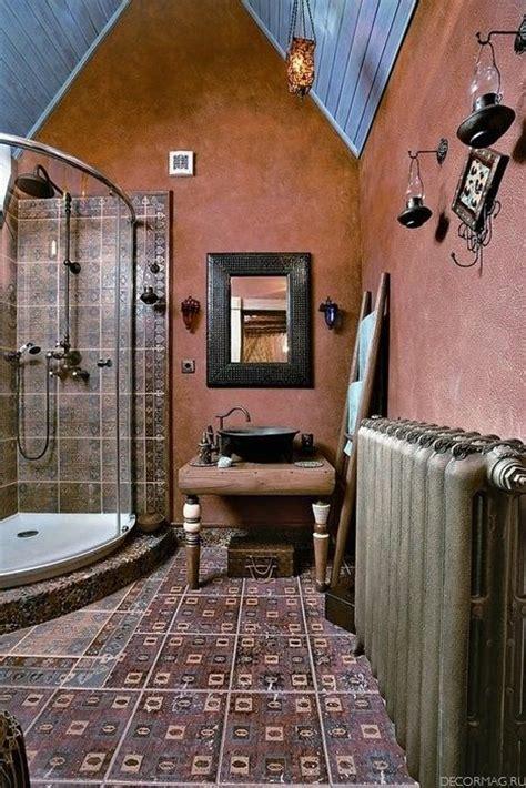bright bohemian bathroom design ideas digsdigs