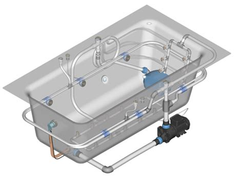 Jetted Bathtub Parts For Whirlpool Spa & Hot Tub