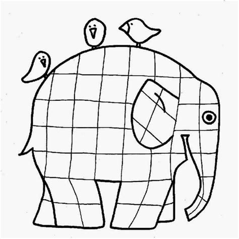 Elmer The Elephant Template by E Is For Elephant Preschool Craft 2019 Ducks N A Row
