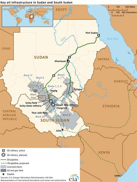 South Sudan Map