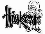Nebraska Cornhuskers Husker Herbie Decal Coloring Huskers Pages Items Football Decals Silhouette Similar Template Sketch Ordinary Everything Find Sticker Window sketch template