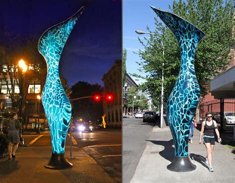 energy creating nephenthes plant sculptures   corson
