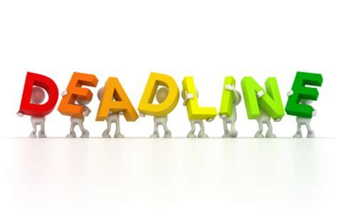tax filing deadlines  canada