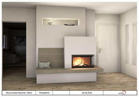 Kachelofen Mit Sitzbank by Kamin Mit Beheizter Bank Wohn Design