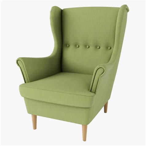 Strandmon Sessel Ikea by Strandmon Chair Ikea Green 3d Max