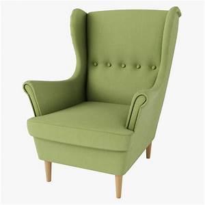 Ikea Ohrensessel Strandmon : strandmon chair ikea green 3d max ~ Markanthonyermac.com Haus und Dekorationen