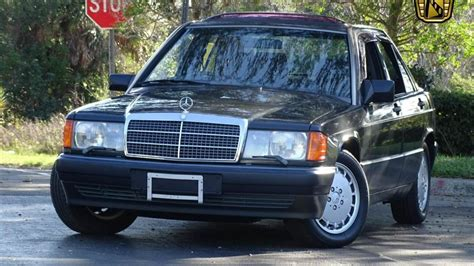 how it works cars 1990 mercedes benz w201 seat position control 1990 mercedes benz 190e gateway classic cars orlando 715 youtube