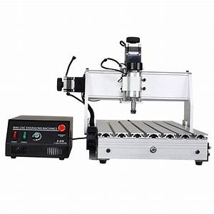 Acrylic CNC 3040 Router with USB Controller Box Video