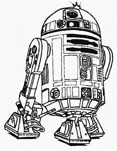 robot r2 d2 star wars coloring pages robot coloring With see a robot workout