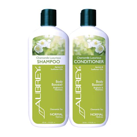 aubrey organics chamomile shampoo conditioner set