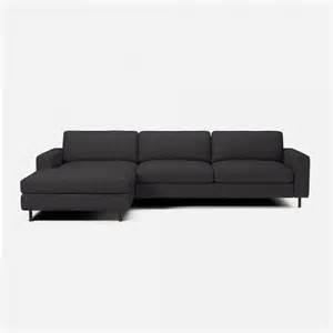 canape scandinavia 3 places 1 2 avec chaise longue bolia With tapis de yoga avec canapé lit nantes