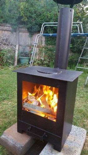 Is It To Burn Wood In Backyard by Outdoor Wood Burning Stove Heater Pit Garden Chiminea