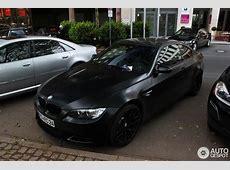BMW M3 E92 Coupé Frozen Black Edition 25 Januar 2013