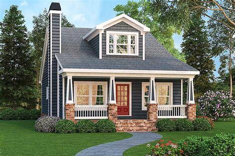 craftsman bungalow  optional bonus gb architectural designs house plans