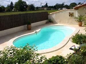 Hivernage Bassin Exterieur : piscine coque blue moon 7m40 x 3m40 piscine seine ~ Premium-room.com Idées de Décoration