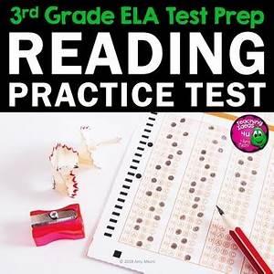 Ela Test Prep Reading Practice Test Fiction  Nonfiction  Grammar 3rd Grade Fsa