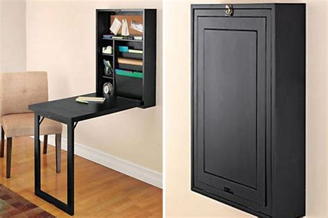 fold out convertible desk space saver 22 wall mounted desks to buy or diy brit co