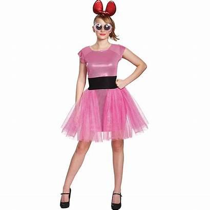 Powerpuff Blossom Costume Costumes Adult Teen Halloween