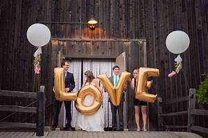 Giant letter balloon wedding ideas mid south bride for Giant letters for wedding