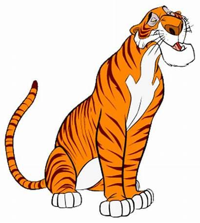 Shere Khan Jungle Disney Tigger Cartoon Characters