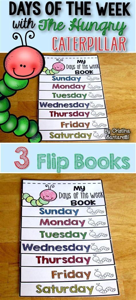 days of the week flip book hungry caterpillar activities 655 | a6b6ccb0671dd4ff19e90e82aeceff9d