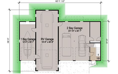 small cottage plans with porches island rv garage 45 39 motor home southern cottages