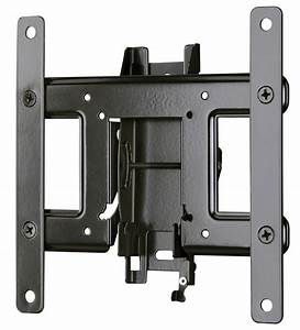 Sanus tilt tv wall mount for 13quot 32quot flat screen tvs and for Flat screen tv wall mount