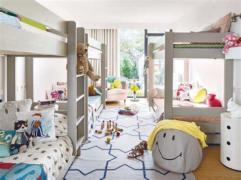 but chambre enfants aménager une chambre pour 4 enfants planete deco a homes
