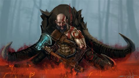 Kratos God Of War 4 Wallpaper #43116