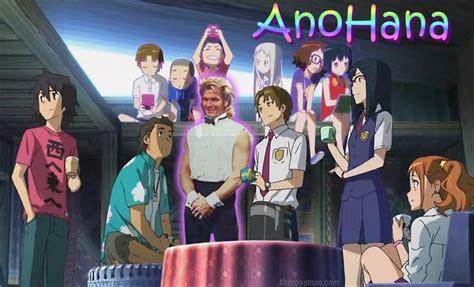 nama anime anohana anime review rating rossmaning anohana aka ano hi mita