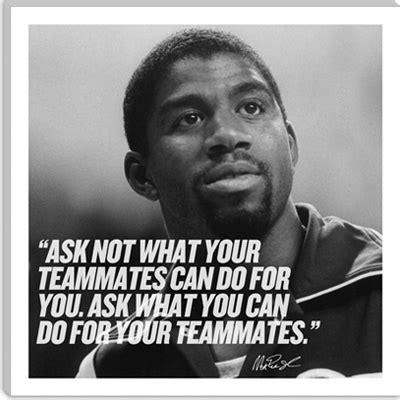 Magic Johnson Quotes On Teamwork