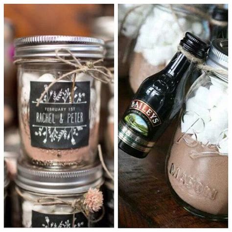 Wedding Favours Autumn Winter Wedding Hot Chocolate