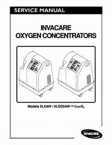 Invacare Models 5lxaw And 5lxo2aw Oxygen Concentrators