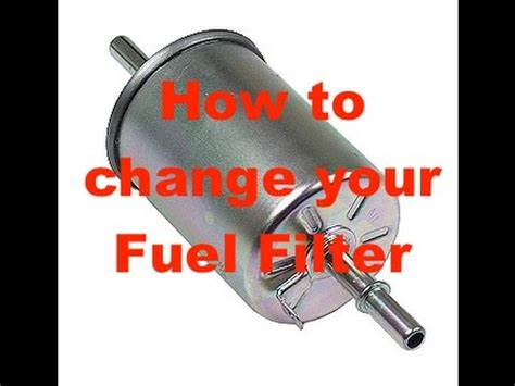 Why Change Fuel Filter by How To Change A Vauxhall Astra Fuel Filter Change