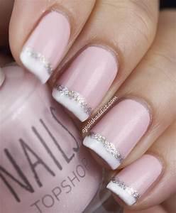 Sparkle Und Glitter Hochzeit - Bridal Nail Designs ...