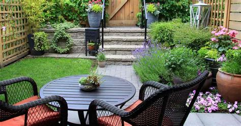 Backyard Planning by How To Succeed With Challenging Small Backyard Landscape